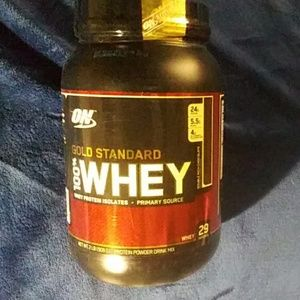 Optimum Nutrition brand gold standard 100% whey